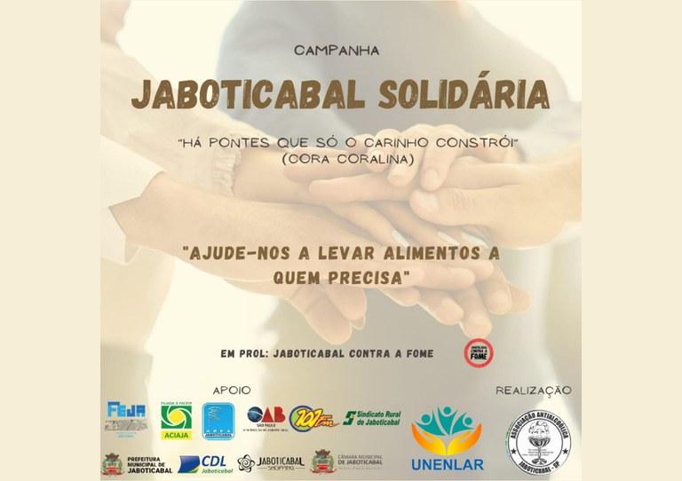 Câmara de Jaboticabal adere à campanha solidária contra a fome no Município