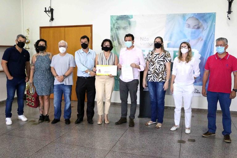 Câmara Municipal de Jaboticabal antecipa devolução de R$ 100 mil aos cofres do Município para ajudar na saúde
