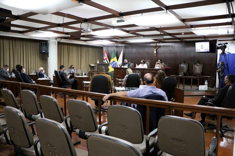 Parecer contrário e quatro projetos são aprovados em sessão ordinária na Câmara de Jaboticabal