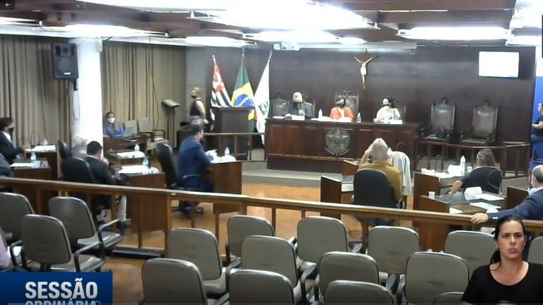 Plenário da Câmara Municipal de Jaboticabal aprova oito projetos em sessão ordinária