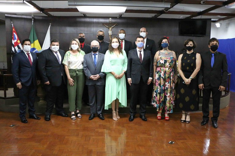 Vereadores, Prefeito e Vice-Prefeito tomam posse na Câmara de Jaboticabal